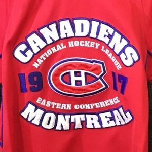 MONTREAL CANADIANS NHL jersey size 6